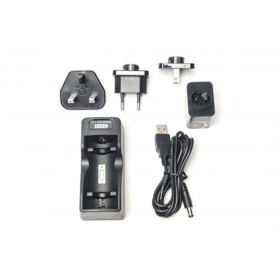 F.I.T. 18650 电池充电器 Pro 加强版 (for Bunny LED/LED650)