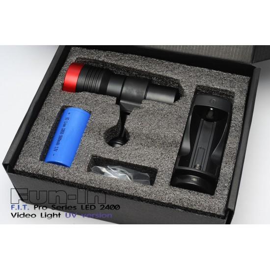 F.I.T. LED 2400UV 摄影灯 (10W UV版)