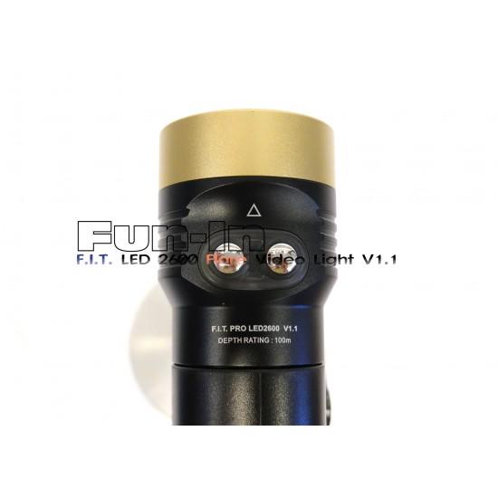 F.I.T. LED 2600 Flare 摄影灯 V1.1
