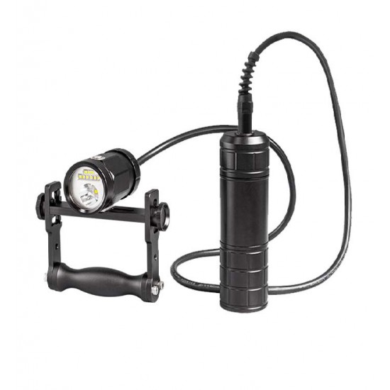 Scubalamp CF21-BP66 技术潜水灯 (手把支架, 恒流驱动, 2100 流明)