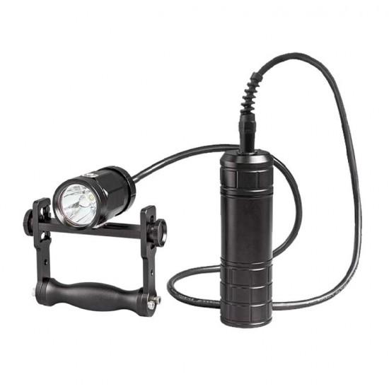 Scubalamp CT18-BP66 技术潜水灯 (手把支架, 聚光, 1800 流明)
