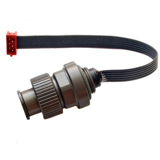 UW Technics Ikelite style 闪灯接座 with 4-pin MicroMatch connector (搭配Nauticam电子连接使用)